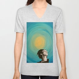 Seeing the Light in an Increasingly Dim World Unisex V-Neck