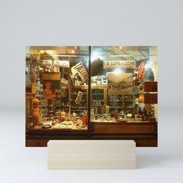 Shop Window, San Telmo, Buenos Aires Mini Art Print