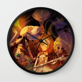 The Crooked Fork (promo poster) Wall Clock