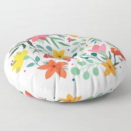 Floral print Floor Pillow