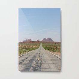Monument Valley Veritcal Metal Print