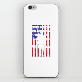 American History T Shirts Defending This Flag Americans iPhone Skin