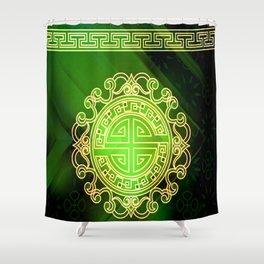 Jade island Shower Curtain