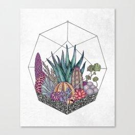 Love cacti Canvas Print