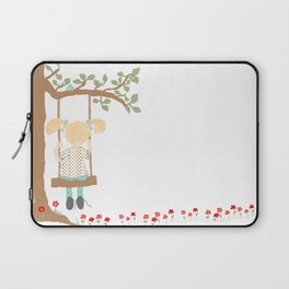 On the Swing, In the Tree Laptop Sleeve