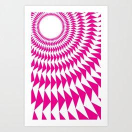 rave up Art Print