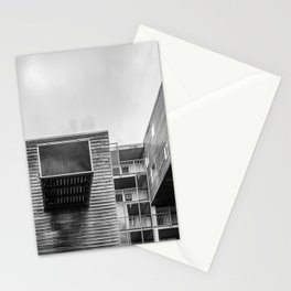 Building in Amsterdam Stationery Cards