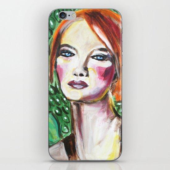 VanGogh Girl iPhone & iPod Skin