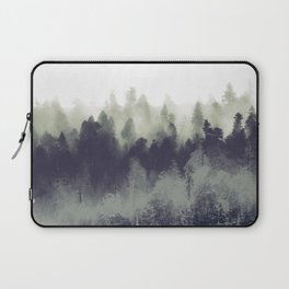 Mountain Forest Abstract Laptop Sleeve