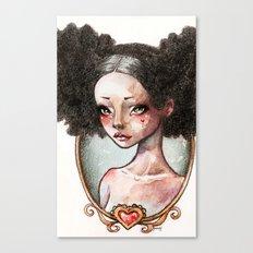 Sweet Ebony Canvas Print