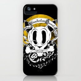 Dog skull iPhone Case