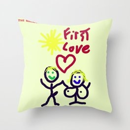 THE RELATIONSHIP,  A LOVE STORY Throw Pillow