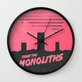 Monolithic Trust Wall Clock
