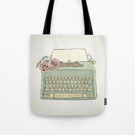 Retro typewriter Tote Bag