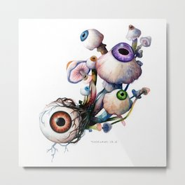 Mushrooms5 Metal Print