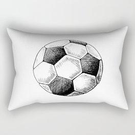 Football ball sketch Rectangular Pillow