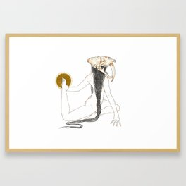 The Beginning is the End Framed Art Print