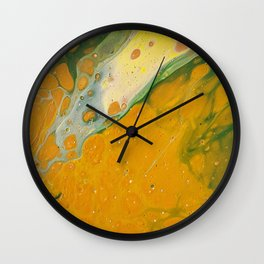 I love mustard Wall Clock