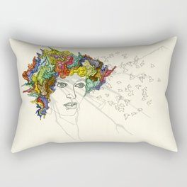 SplatterHead. Rectangular Pillow
