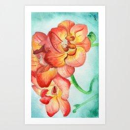Sea Flowers Art Print