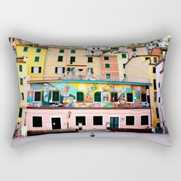Lone Villager Rectangular Pillow