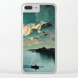 A Meditation Clear iPhone Case
