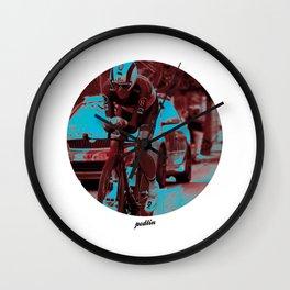 Leopard-Trek Colours Wall Clock