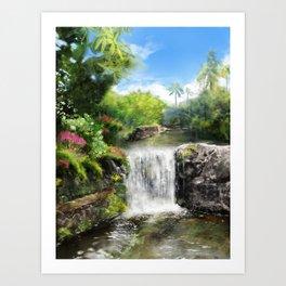 Hawaiian  Garden Art Print