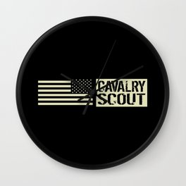 Cavalry Scout (Black Flag) Wall Clock