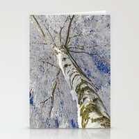 john snow Stationery Cards featuring Snow worlds by Tanja Riedel