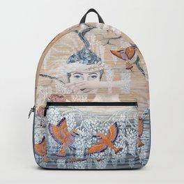 Wisteria tree Backpack