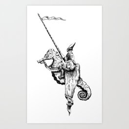 Errantry Art Print