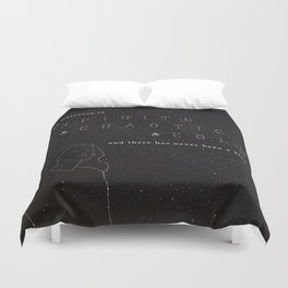 Infinite & Chaotic & Cold Duvet Cover