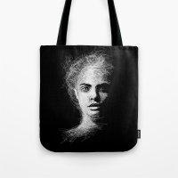 cara Tote Bags featuring CARA by naidl