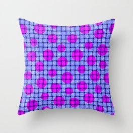 BASKETWEAVE PATTERN 3 Throw Pillow