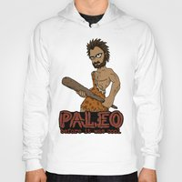 crossfit Hoodies featuring Paleo Before It Was Cool Crossfit Design by RonkyTonk by RonkyTonk