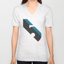 Five Unisex V-Neck