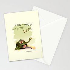 I am hungry for your love Stationery Cards