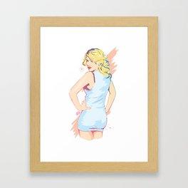 Le Bang Bang Framed Art Print