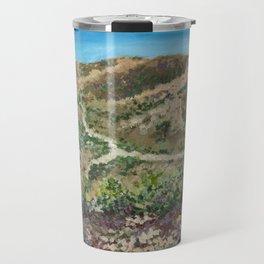 Boise foothills painting Travel Mug