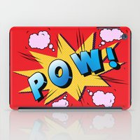 superheroes iPad Cases featuring superheroes by mark ashkenazi