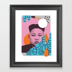Kim Jong Fun! Framed Art Print
