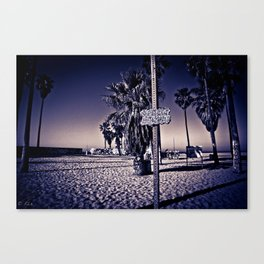 Venice Beach  Canvas Print