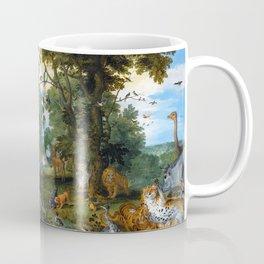 "Jan Brueghel the Elder, Peter Paul Rubens ""The Garden of Eden with the Fall of Man"" 1615 Coffee Mug"