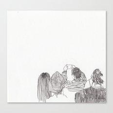 Paparazzi Canvas Print
