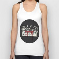 war Tank Tops featuring war by Landon Sheely
