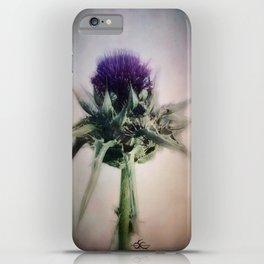 """wild flower i am ... in sinister worlds"" iPhone Case"