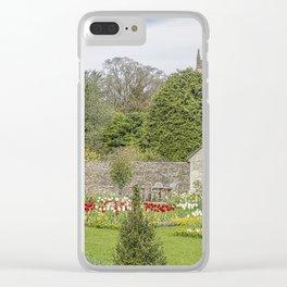 English Garden. Clear iPhone Case