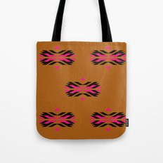 LUXURY COLLECTION : tribal Brown Tote Bag