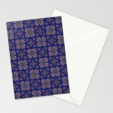 Royal [abstract pattern A] Stationery Cards